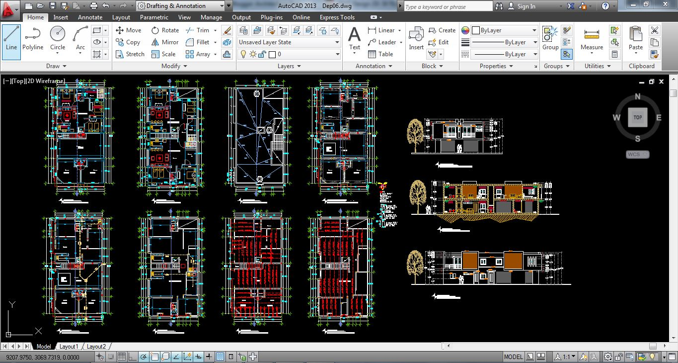 How to Start a Project in AutoCAD Architecture