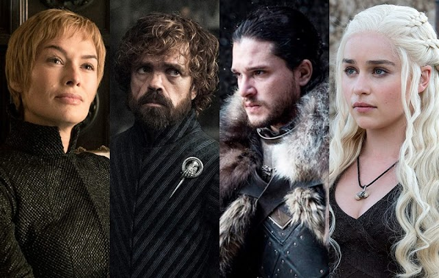 The premiere of 'Game of Thrones season 8' will be in April 2019