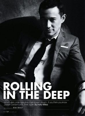 Joseph Gordon-Levitt Is Dapper-Dandy In The Pages Of Elle Magazine!