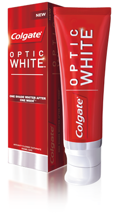 colgate, optic white
