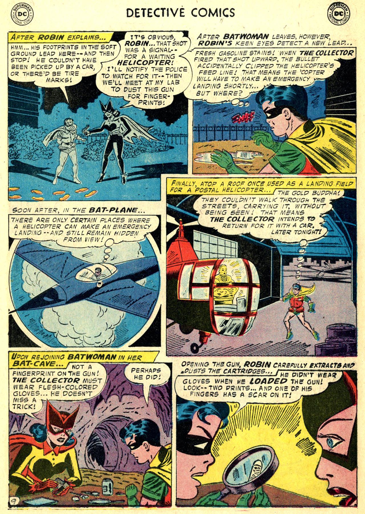 Read online Detective Comics (1937) comic -  Issue #249 - 11