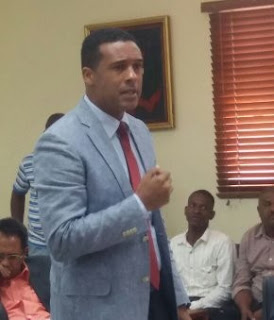 En San Cristóbal: Elvis Rosario dice en el 2018 el reto será la transparencia.