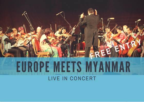 Europe Day 2018 အထိမ္းအမွတ္အျဖစ္ Europe meets Myanmar ဂီတေဖ်ာ္ေျဖပြဲ ျပဳလုပ္မယ္