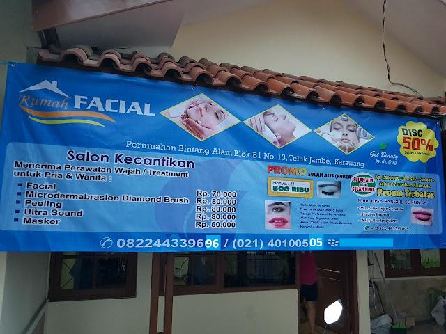 Rumah, Facial