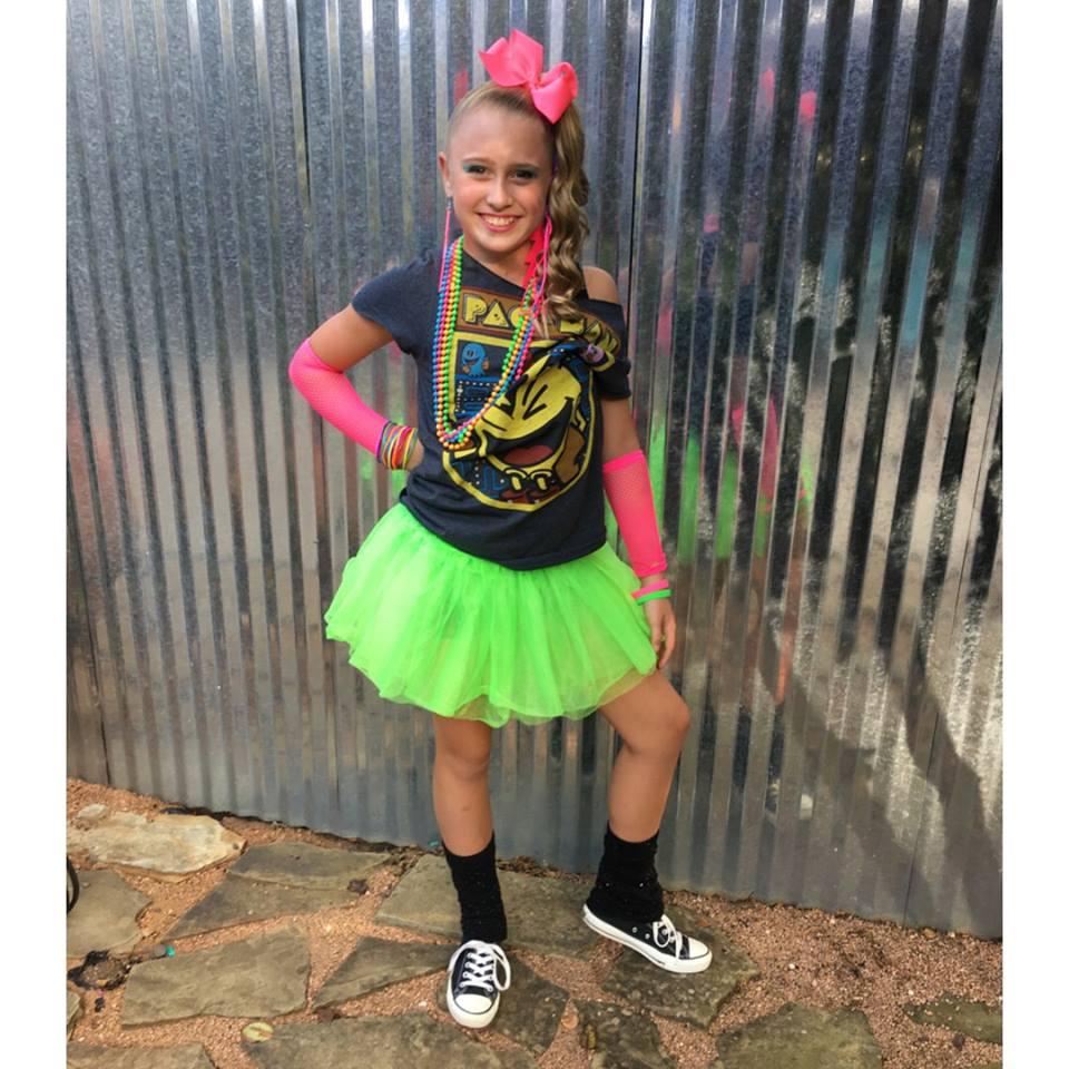 Crafty Texas Girls 80s Diy Costume Amp Photo Props