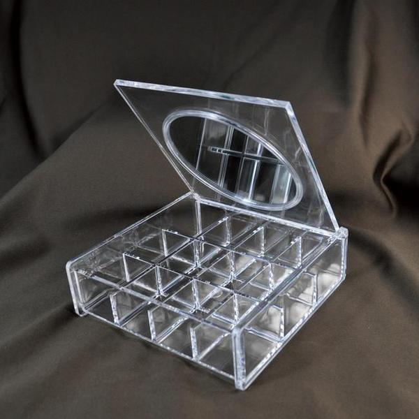 Shop Wholesale Acrylic Organizer Box with Mirror at Nile Corp