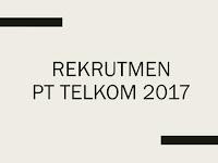 Lowongan Rekrutmen Telkom 2017