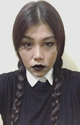 Halloween Cebu Wednesday Addams by Ly Patromo