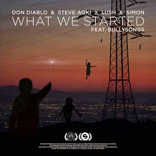 Don Diablo & Steve Aoki X Lush & Simon What We Started (Feat Bullysongs) Lyrics