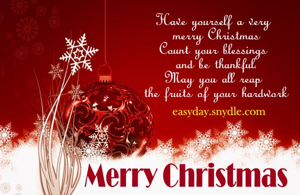 Merry Christmas Inspiration Wishes