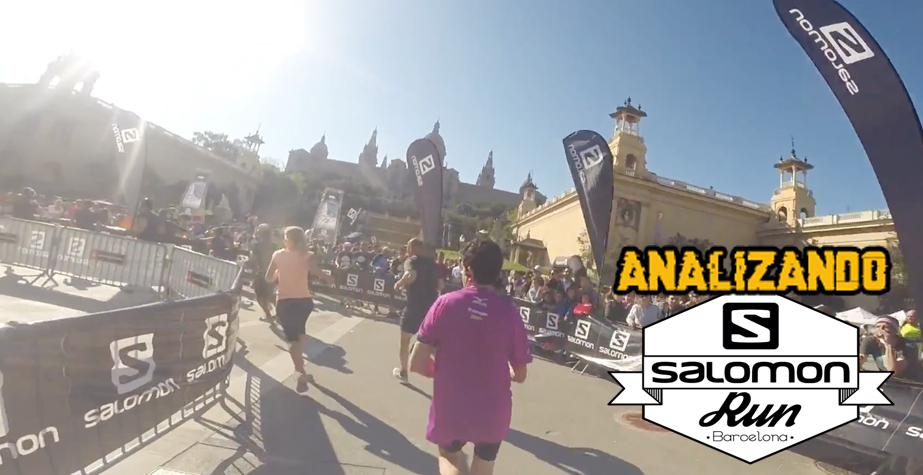 Analizando Salomon Run Barcelona 2018