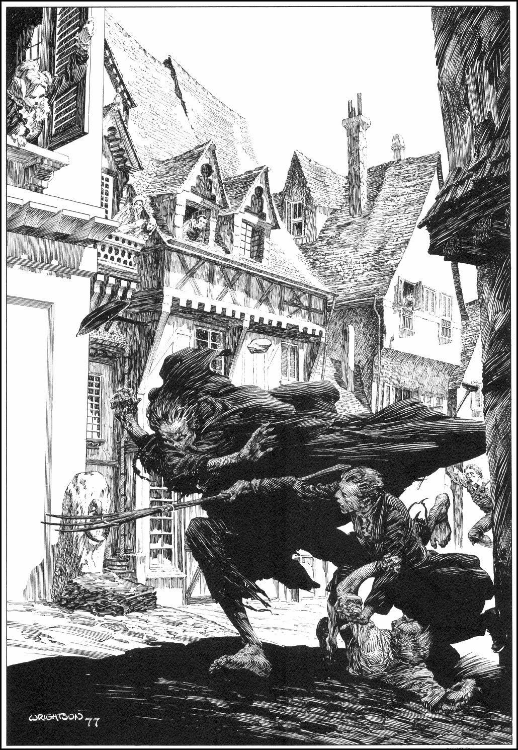 Heres The Legendary Bernie Wrightsons Illustrations For Mary Wollstonecraft Shelleys Frankenstein A Portfolio