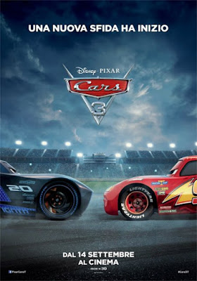 Cars 3 - recensione, cinema, cartoon