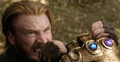 Avengers infinity war climax scene
