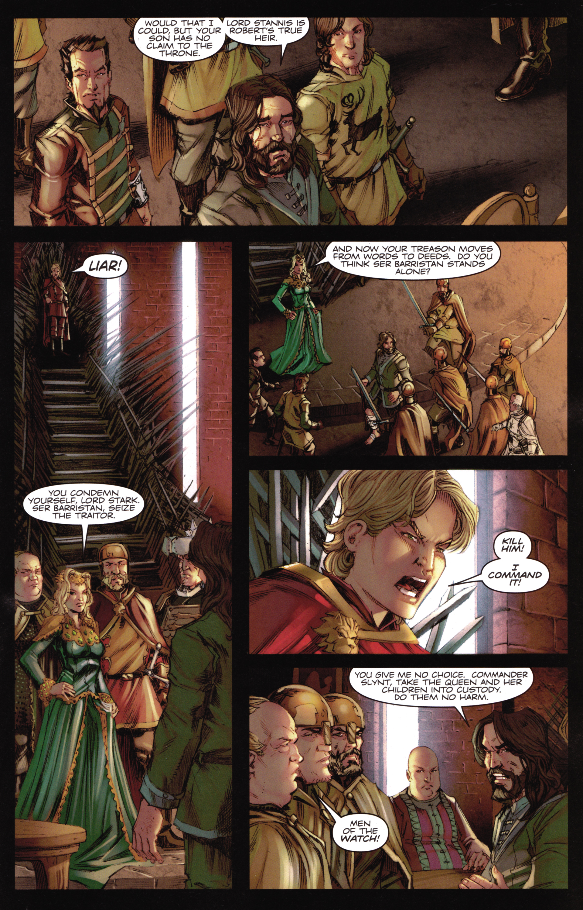 Read online A Game Of Thrones comic -  Issue #16 - 11