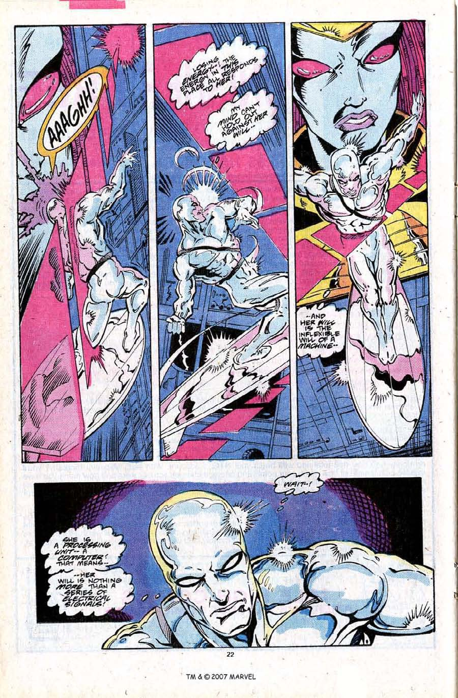 Read online Silver Surfer (1987) comic -  Issue #24 - 24