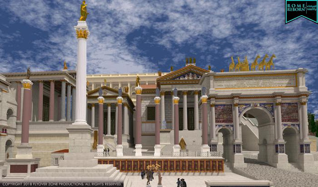 Virtual reality resurrects ancient Rome bit by bit