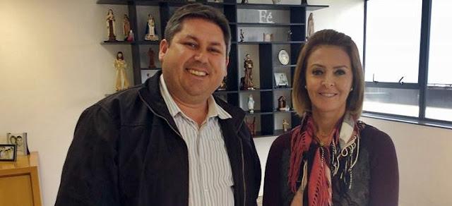 Mato Rico: Marcel se reúne com Secretária Fernanda Richa