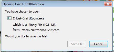 Cricut craftroom blog installing cricut craft room for Cricut craft room download