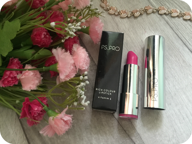 primark ps pro lipstick in o2 provocative pink