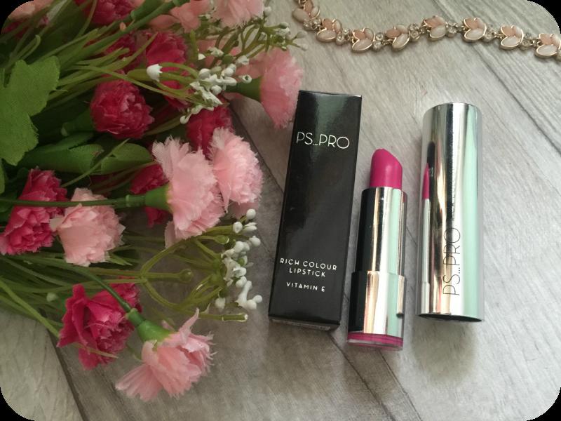 primark ps pro lipstick in o2 provocative pink