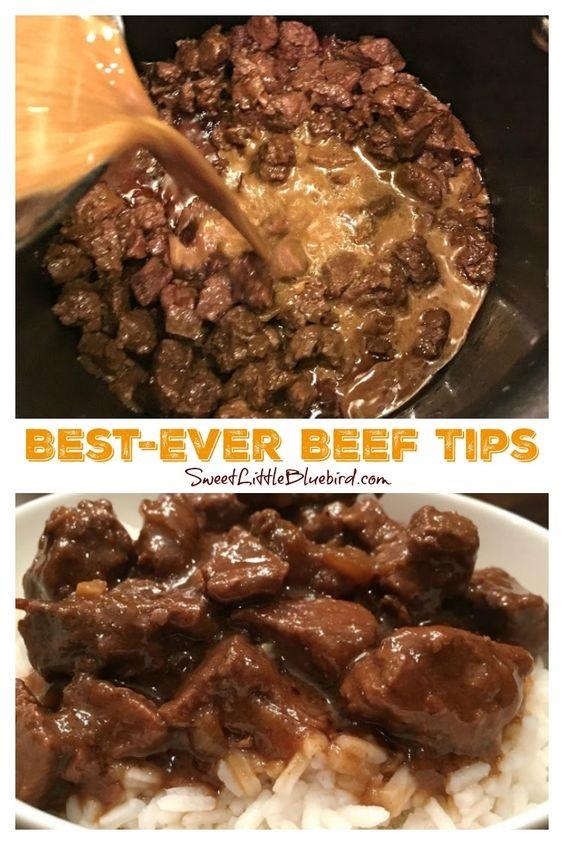 Best-Ever Beef Tips