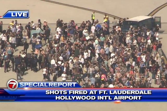 SHOCKING: Multiple People Shot At Ft. Lauderdale Airport