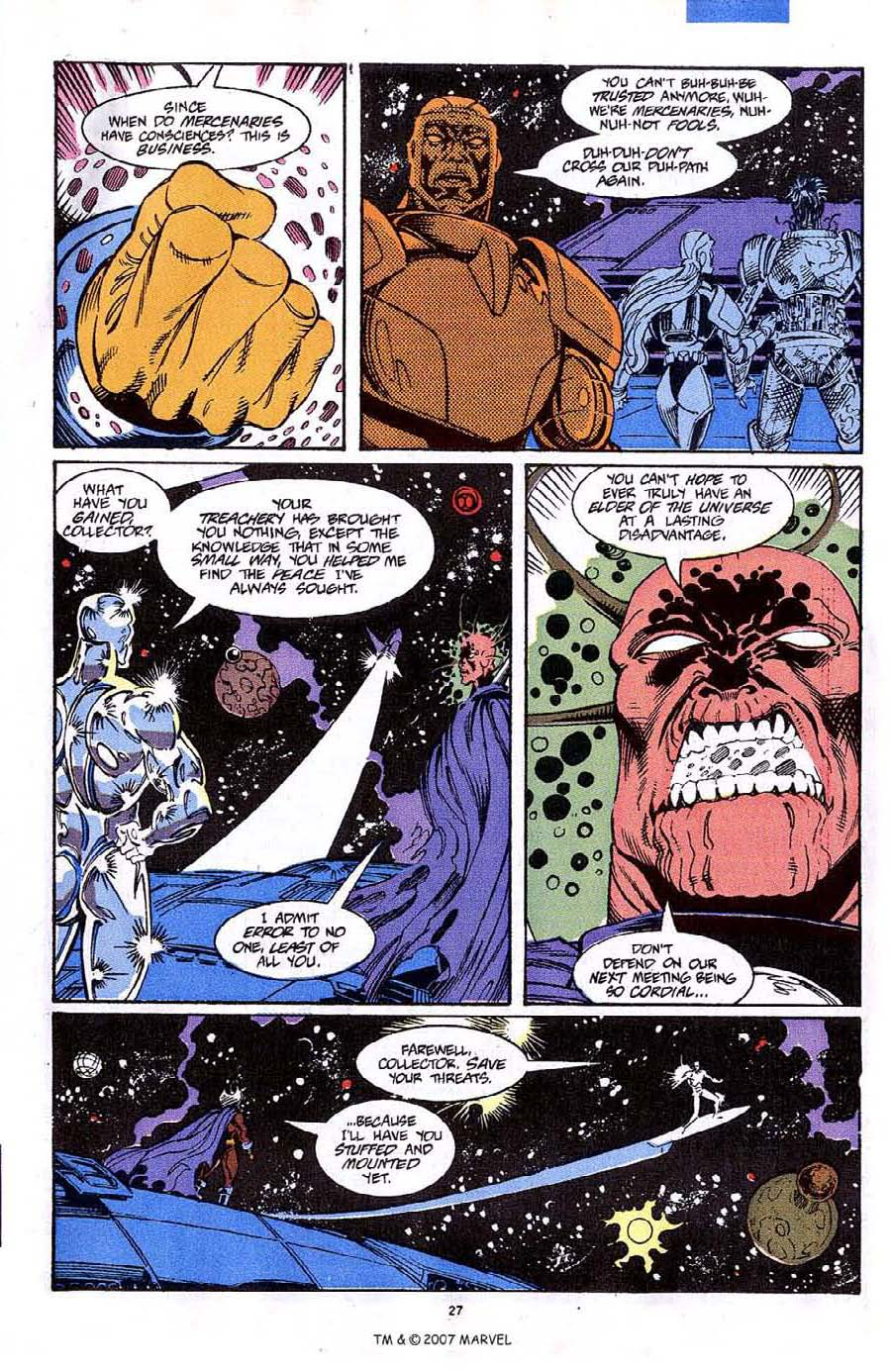 Read online Silver Surfer (1987) comic -  Issue #64 - 29