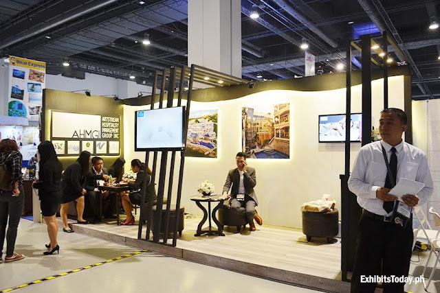 AHMGI Exhibit Booth