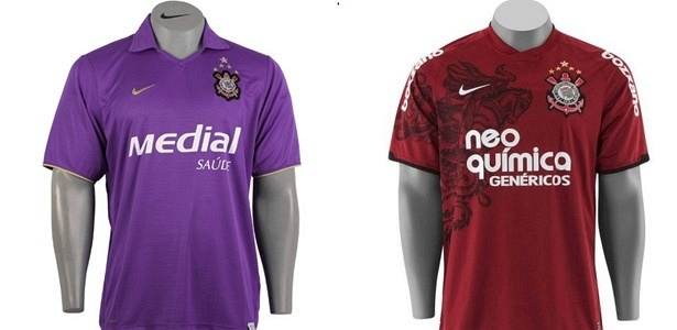 Já os uniformes 1 e 2 terão uma marca d água com bandeiras do estado de São  Paulo. A camisa 2 será totalmente preta cdd6cc0b67f71