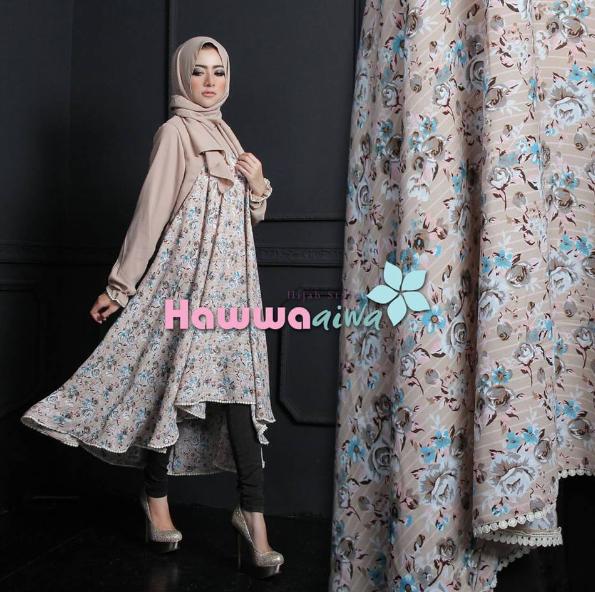 Kumpulan Model Baju Gamis Batik Rancangan Ivan Gunawan Terbaru 2019