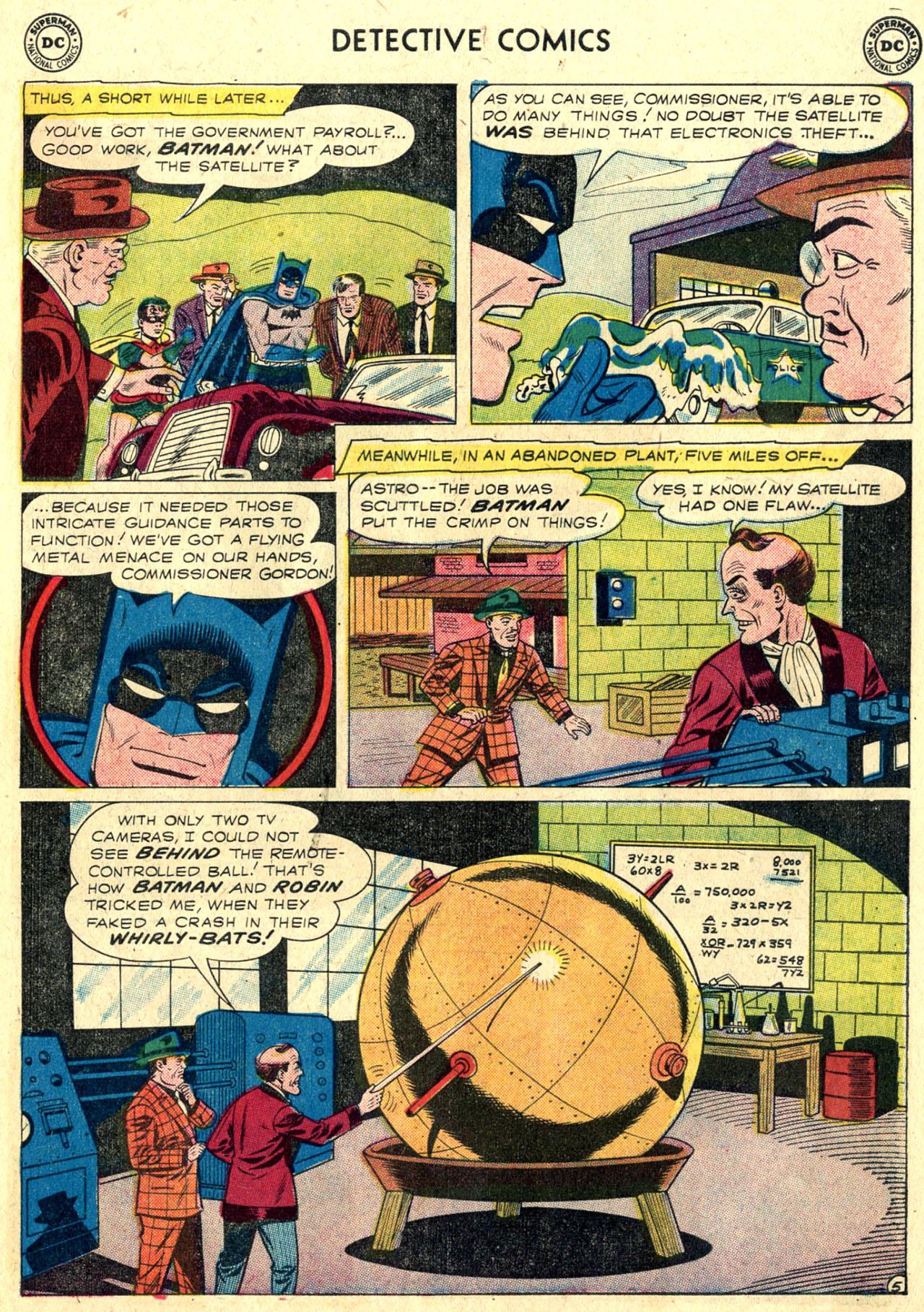 Detective Comics (1937) 266 Page 6