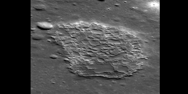 New research looks at how this strange volcanic caldera on the Moon was formed. NASA/GSFC/ASU