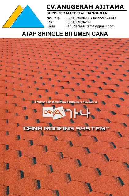 Harga Atap Bitumen Cana