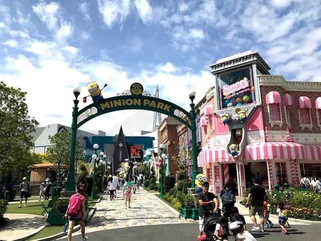 大阪遊記 - 環球影城 2017 迷你兵團樂園 (MINION PARK) + 夏日嘉年華
