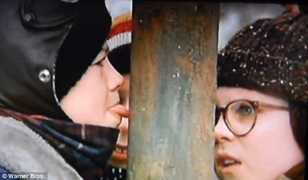 a christmas story moment stuck in history - What Year Did A Christmas Story Come Out