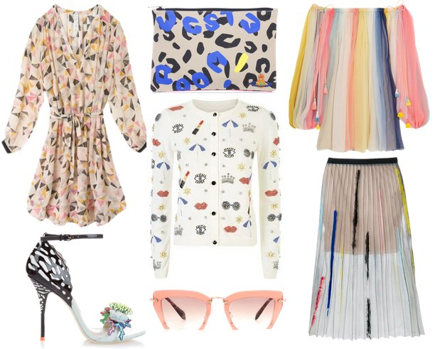 Summer 2016 Colourful Fashion