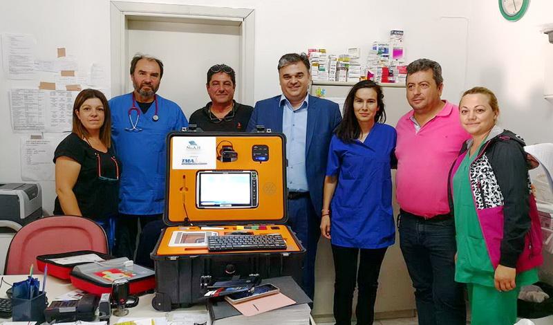Δωρεά συστήματος τηλεϊατρικής στο Περιφερειακό Ιατρείο Σαμοθράκης