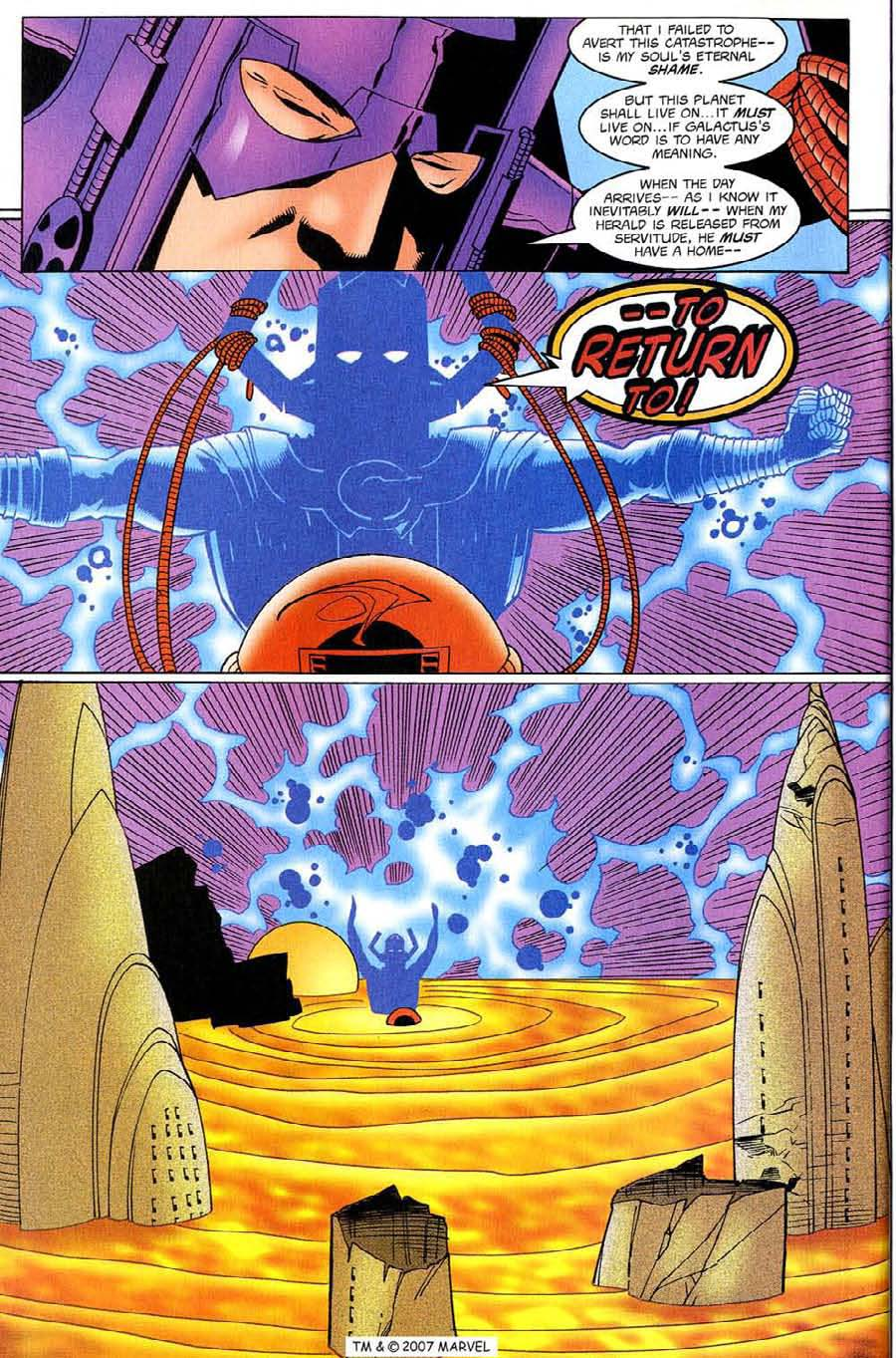 Read online Silver Surfer (1987) comic -  Issue #130 - 30