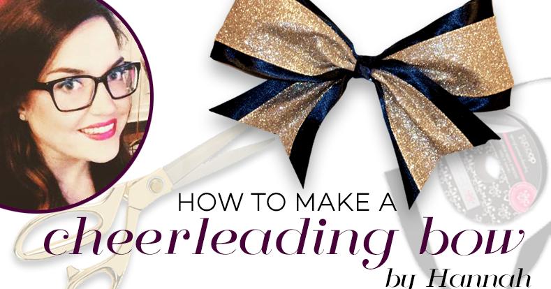 Zip Tie Gun >> CheerandPom Blog: Cheer and Pom DIY: How to Make a Cheerleading Bow.