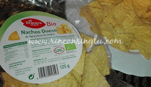 nachos sin gluten para celiacos