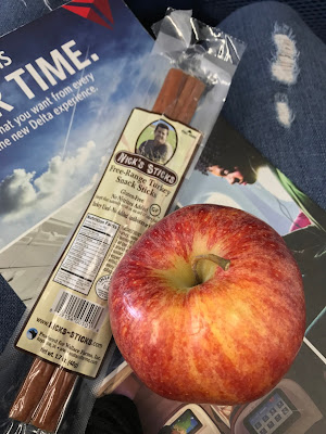 Perfect Travel Snacks Apple and Nicks Sticks