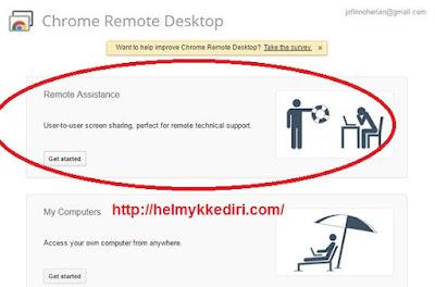 Mengendalikan komputer dengan google chrome3