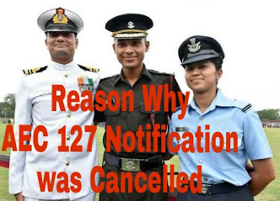Reason Why AEC 127 Notification was Cancelled