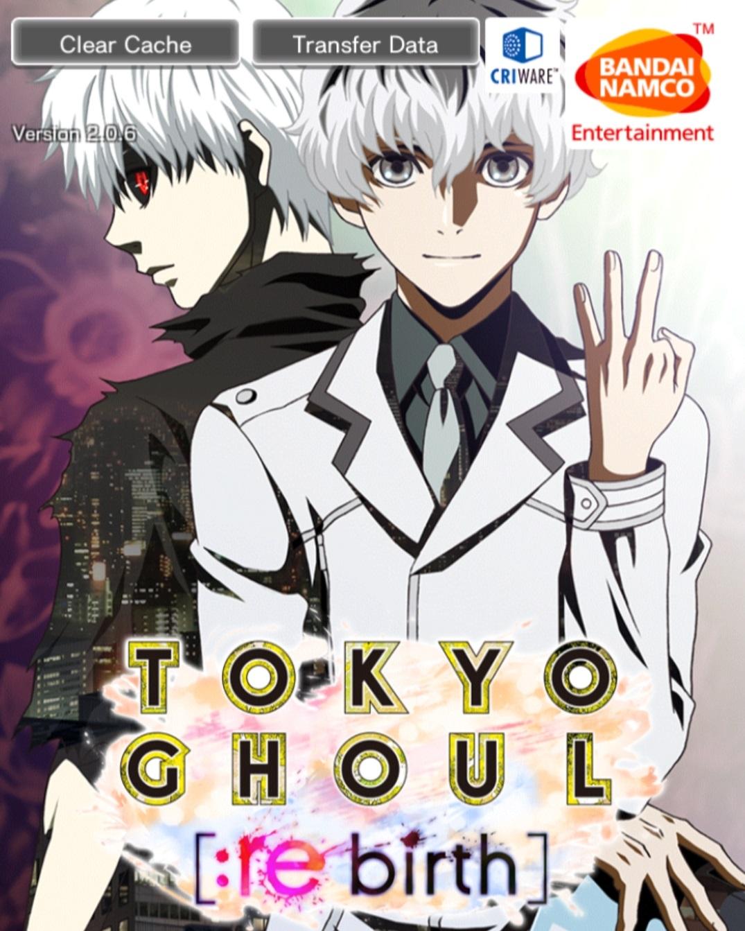 Mobage」 Tokyo Ghoul [:re birth] | Milkcananime