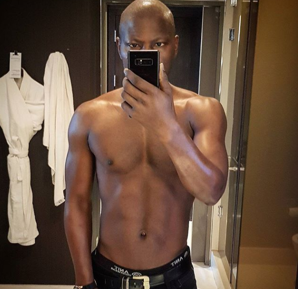 OAP Sensei Uche shares a selfie after his 4th chemotherapy session