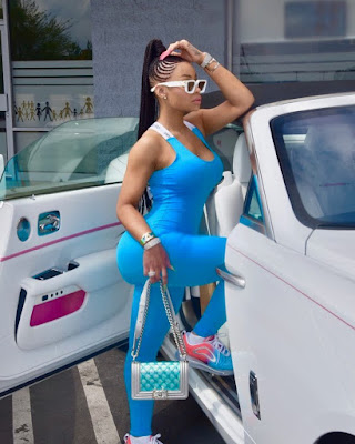Blac Chyna fashion and style looks