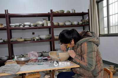 New discoveries in Phoenix Mountain kiln site in Zhejiang