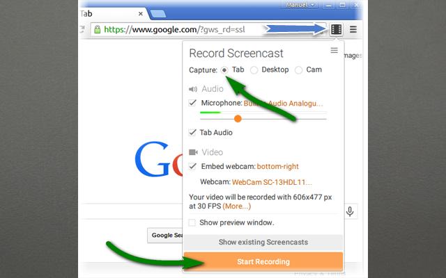 اضاقة screencastify  لجوجل كروم تقوم بتصوير شاشاة حاسبك باحترافية