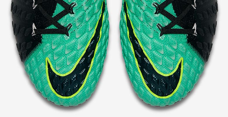 d66167224f1b The 2017 Women s Euro colorway of the Nike Hypervenom Phantom 3 boots  combines turquoise ( Light Aqua ) with black